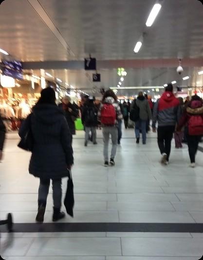 ドイツ デュッセルドルフ駅