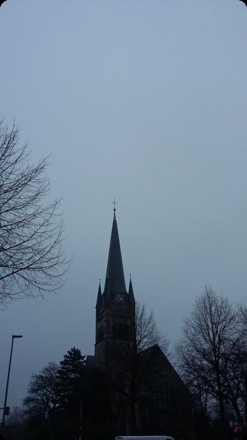 ドイツ 灰色の空