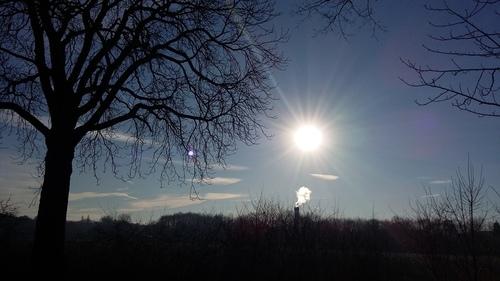 1月20日 晴れた空~♪