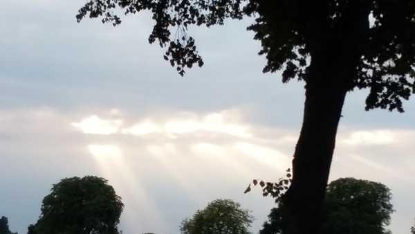 7月 ドイツの空