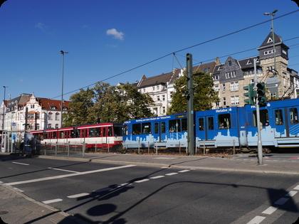 ドイツ Düsseldorf U-Bahn