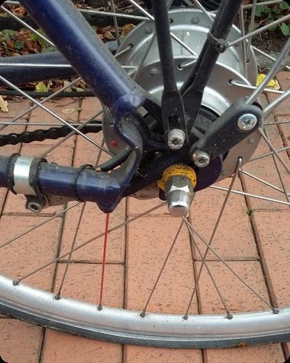 ドイツ 自転車 パンク