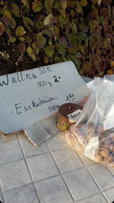 ドイツ 胡桃売り