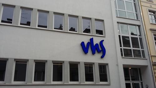 ドイツのVHS(インテグレーションコース)から来た手紙。